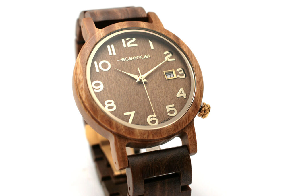 Montre homme bois chic maillons